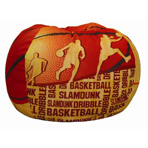 Komfy Kings Basketball Slam Dunk Bean Bag Chair