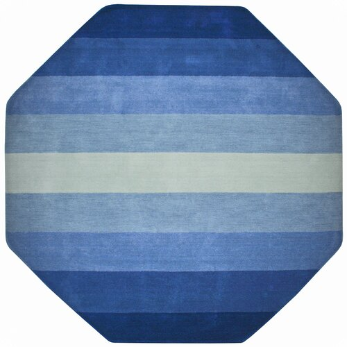 St. Croix Aspect Blue Stripes Rug