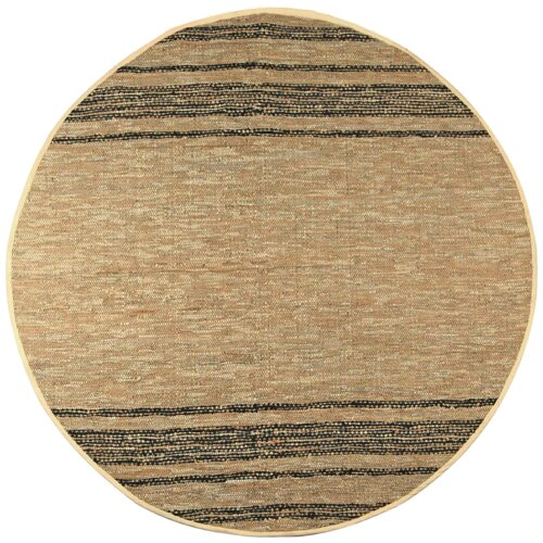 St. Croix Matador Tan Leather Chindi Rug