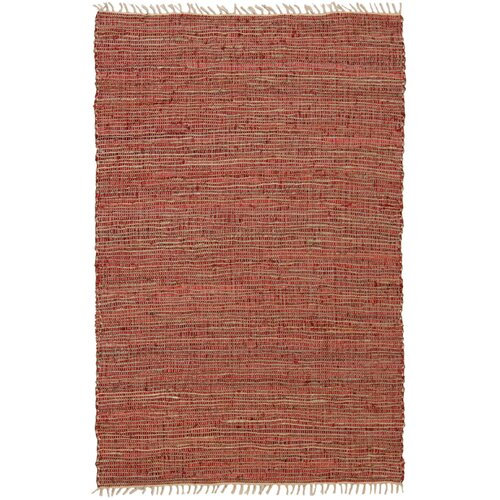 St. Croix Matador Copper Leather/Hemp Rug