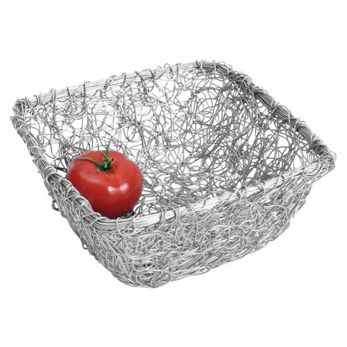 Kindwer Square Twist Wire Mesh Basket