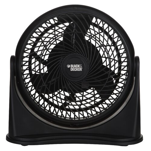 "Ragalta Black and Decker 8"" High Velocity Turbo Desk Fan"