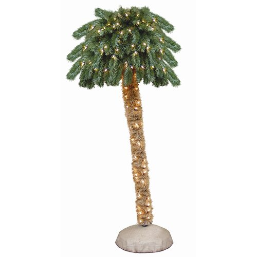 General Foam Plastics Green Tropical Artificial Christmas Tree