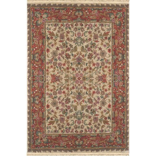 American Home Rug Co. American Home Classic Tabriz Antique Ivory/Rose Rug