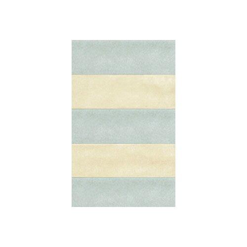 American Home Rug Co. Beach Rug Light Blue/Ivory Boardwalk Stripes Rug