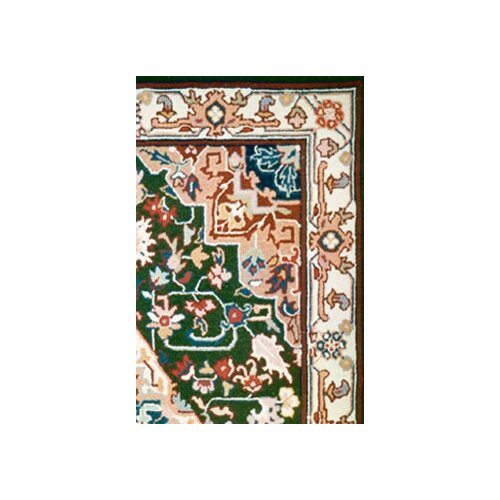 American Home Rug Co. Bucks County Heriz Emerald Green/Ivory Rug