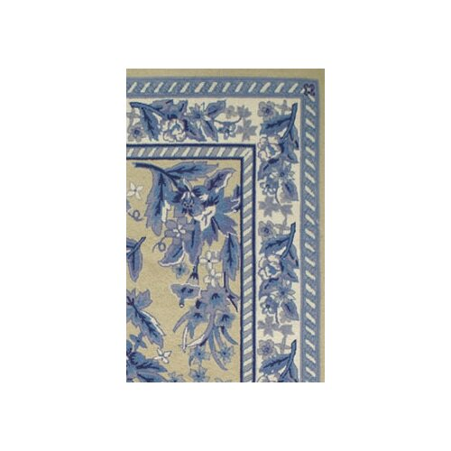 American Home Rug Co. Bucks County Yellow/Blue Sarough Rug