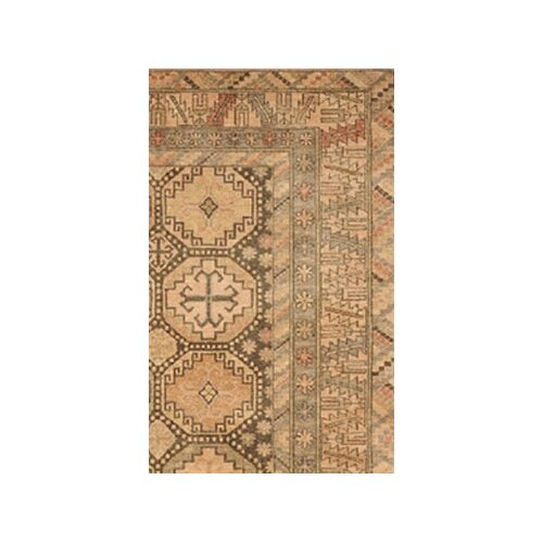 American Home Rug Co. Village Brown/Peach Kazak Rug