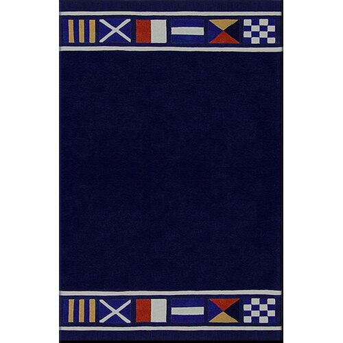 Signal Flag Rug: American Home Rug Co. Beach Rug Nautical Flags Novelty Rug