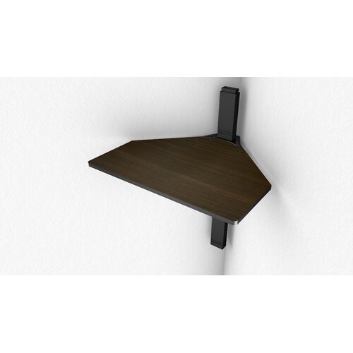 Cambre Sky Shelf Corner Shelf Wood in Reversible Cherry / Espresso