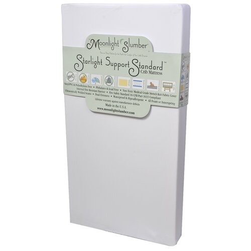 Starlight Support Standard All Foam Crib Mattress