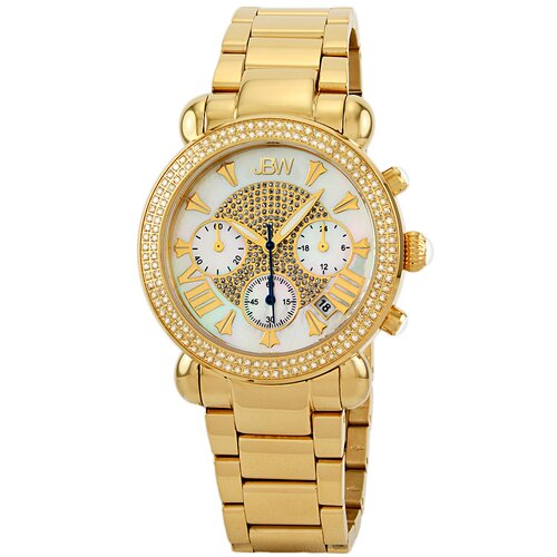 Women's Victory Watch in Gold with White Dial
