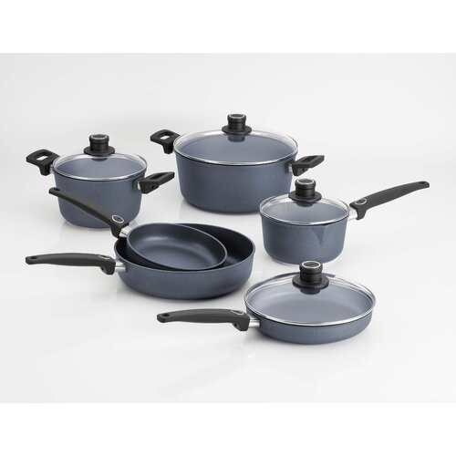 Diamond Plus 10-Piece Induction Cookware Set