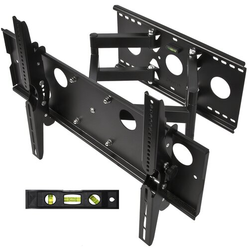 "Cheetah Mounts Dual Extending Arm/Tilt Universal Wall Mount for 32"" - 65"" Screens"