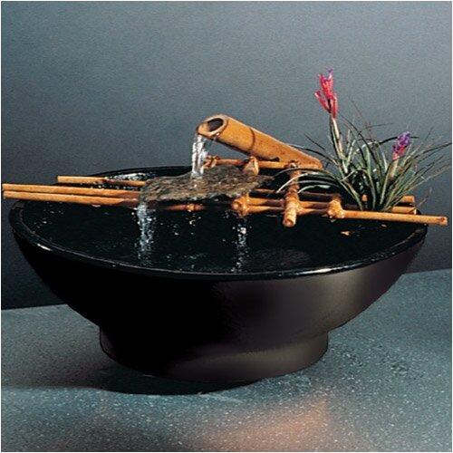 Ceramic Nature Bowl Medi Tabletop Fountain