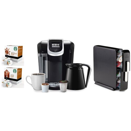 Starbucks Coffee Maker Filter : 2.0 K450 Brewing System with 2.0 Carousel, Water Filter Refills and Starbucks House Blend K-Cups ...