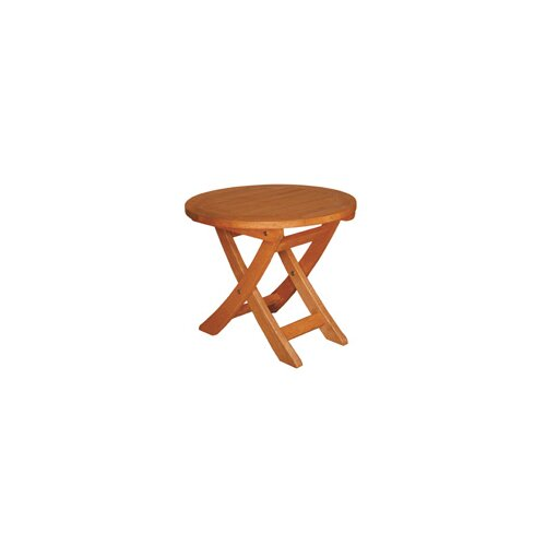 Blue Star Group Terrace Mates Aspen Round Folding Side Table