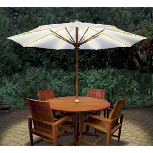 Blue Star Group Brella Lights Patio Umbrella Lighting System
