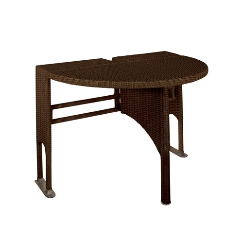 Blue Star Group Terrace Mates Adena Half Round Dining Table