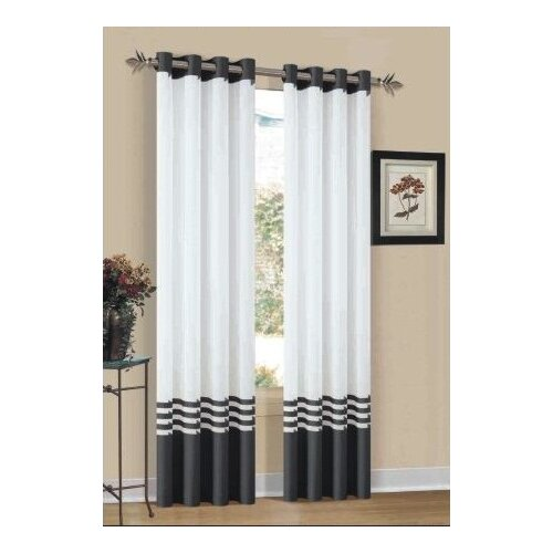 DR International Elizabeth Grommet Curtain Single Panel