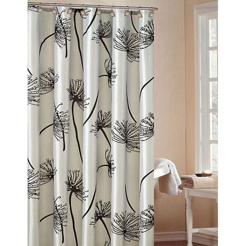 Soleil Fabric Shower Curtain