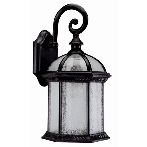 DVI Hexagon 1 Light Outdoor Wall Lantern