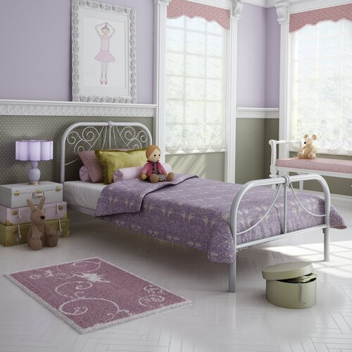 Ballerina Twin Size Metal Bed