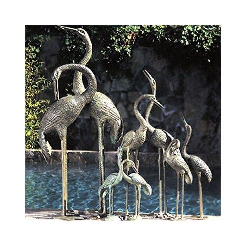 Birds Crane Pair Fountain
