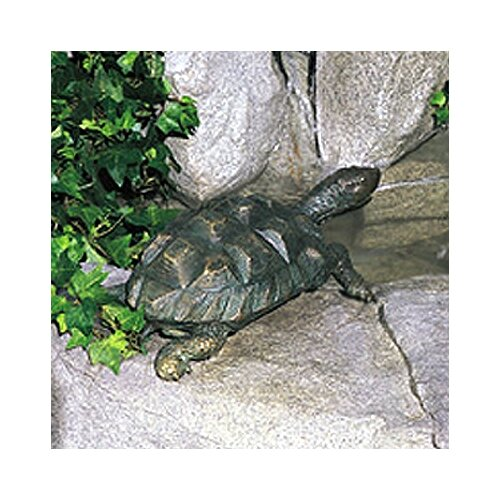 Brass Baron Sea Life Turtle Fountain
