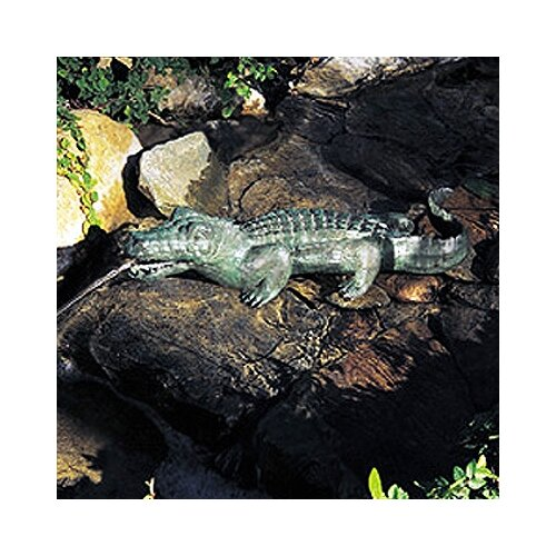 Alligator outdoor decor wayfair for Alligator yard decoration
