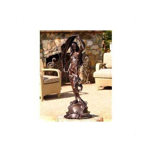 Brass Baron L'Aurore Statue