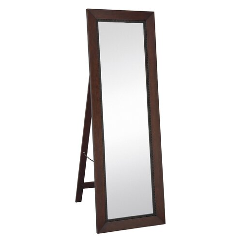 Majestic Mirror Contemporary Rectangular Floor Mirror
