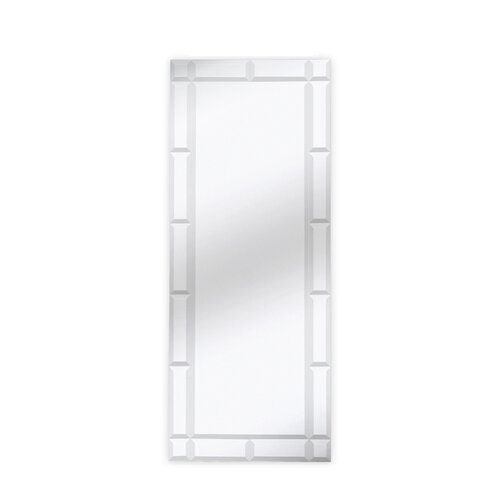 Majestic Mirror Traditional Rectangle Bevel Wall Mirror