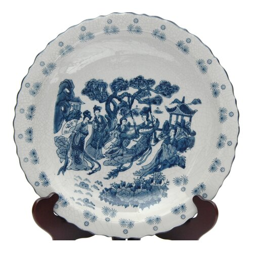 Ladies Porcelain Plate