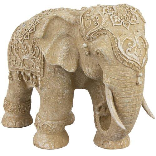 Standing Elephant Figurine Wayfair
