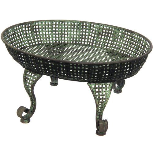 Table Tray Pedestal Plant Stand