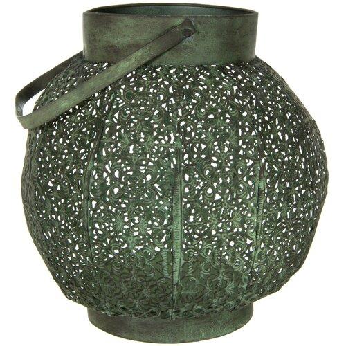 Oriental Furniture Wrought Iron Lantern