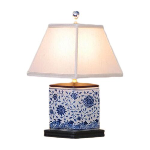 "Oriental Furniture Vase 16"" H Table Lamp"