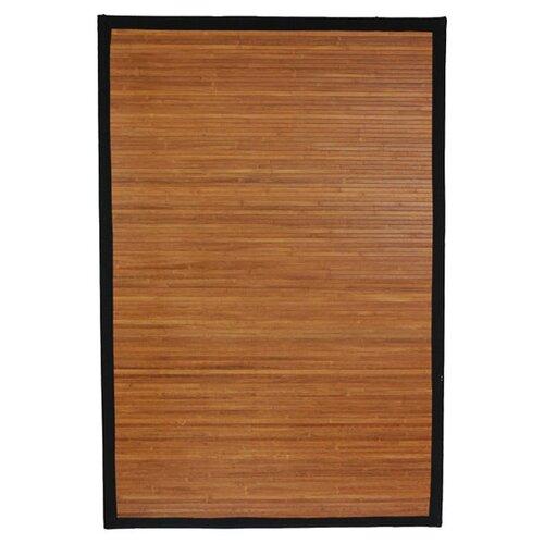 Oriental Furniture Burnt Bamboo Area Rug & Reviews
