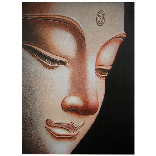 Oriental Furniture Buddha Graphic Art on Canvas