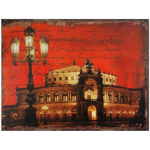 Oriental Furniture German Opera House Graphic Art on Canvas