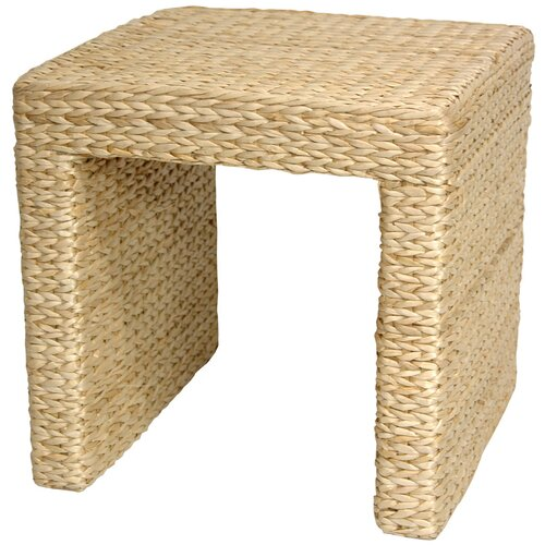 Oriental Furniture Rush Grass End Table