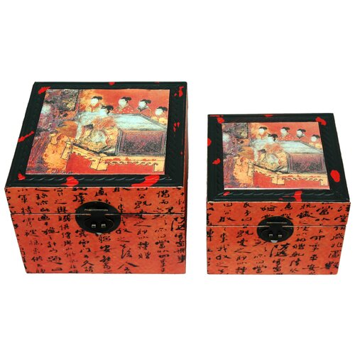 Flying Emperor Storage Box (Set of 2)