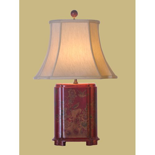 Oriental Furniture Lacquer Table Lamp