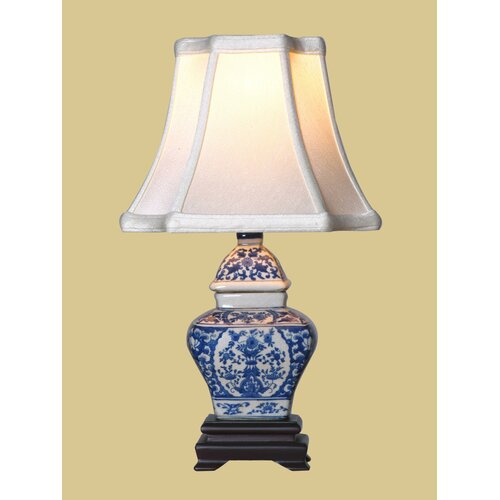 Oriental Furniture Jar Table Lamp