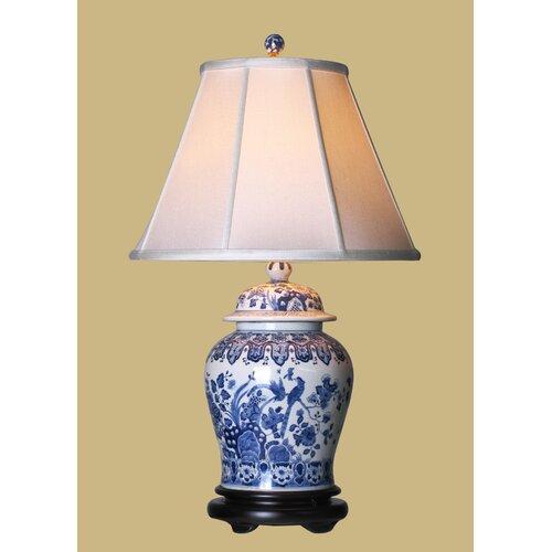 "Oriental Furniture Temple 23"" H Jar Table Lamp"