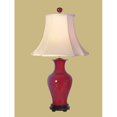 "Oriental Furniture Vase 28.5"" H Table Lamp"
