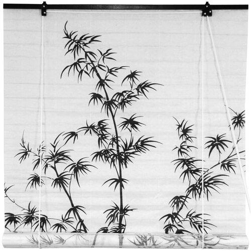 Bamboo Tree Shoji Rice Paper Roller Blind