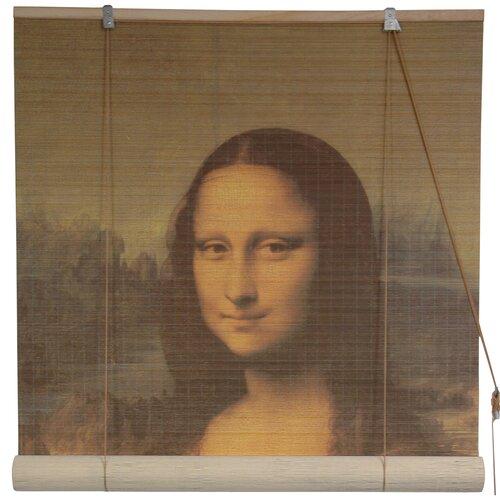 Mona Lisa Bamboo Roller Blind