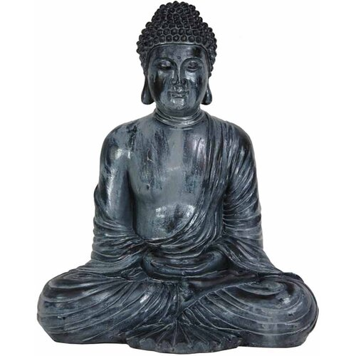 Japanese Sitting Buddha Figurine